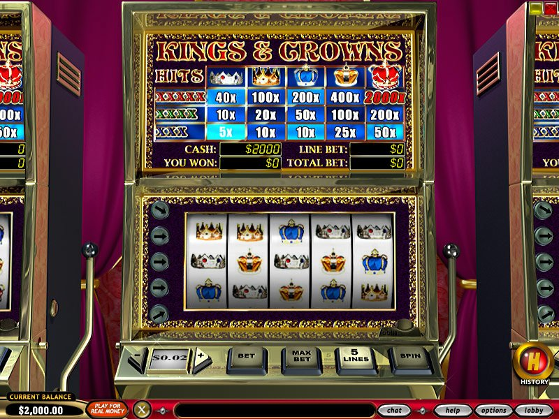 Kings and Crowns Slots