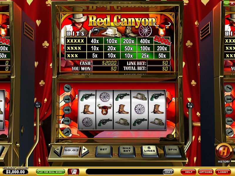 Red Canyon Slots