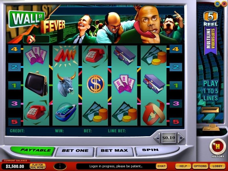 Wall St Fever Slots